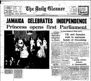 Jamacian independence