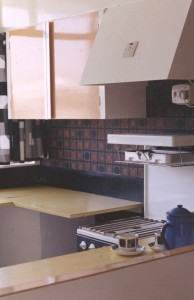Kitchen at Harcourt Close
