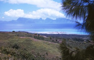 View of Moorea