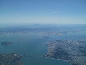 San Francisco Bay from the air