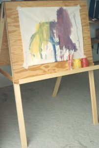 Our children's easel