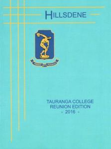 Tauranga College reunion booklet